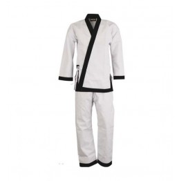 Black Belt Karate Uniform White '8-oz'